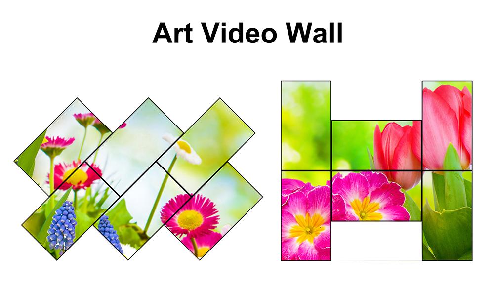 MWP6 Art video wall