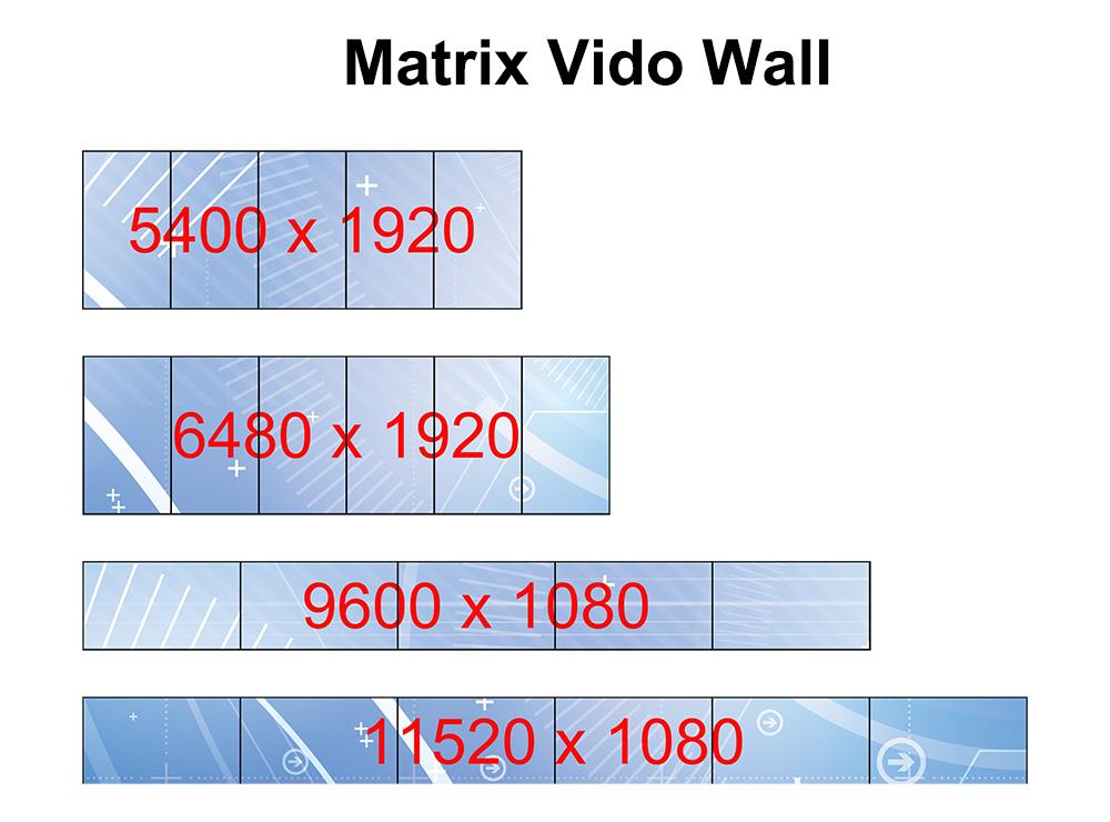 MWP6 Matrix wall